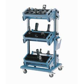 Rousseau 3 Level Mobile Tool Carts