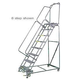Stainless Steel Lockstep Rolling Ladders
