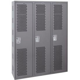 Hallowell Welded Single-Point Ventilated Lockers