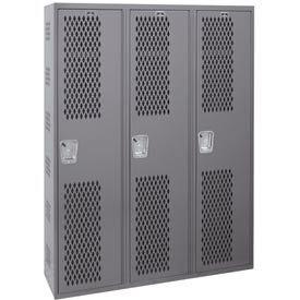 Hallowell Welded Single-Point Ventilated Lockers