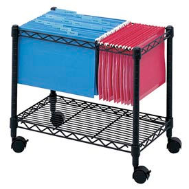Wire Mobile File Carts