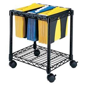 Compact Mobile Wire File Carts