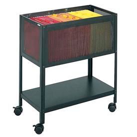 Mesh Tub Mobile Filing Carts