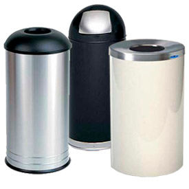 Round Trash Cans