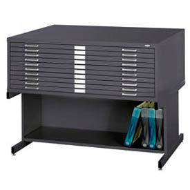 Mayline® - Safco® - Steel Flat File With Optional Bases
