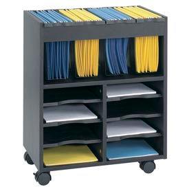 Safco® Go Carts™ Mobile Organizer Carts