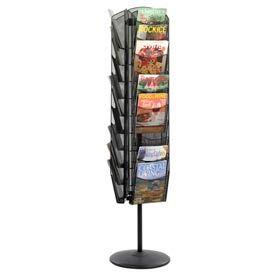 Wire & Mesh Literature Display Racks