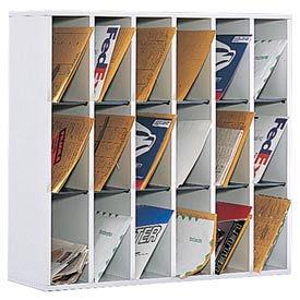 Safco® - trieurs de courrier bois