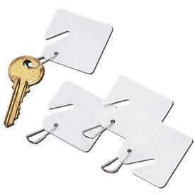 Étiquettes à clés à tête fendue pour armoires à clés