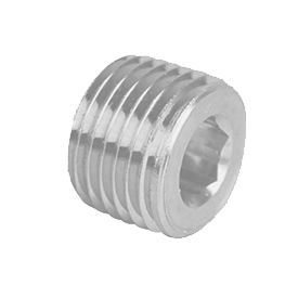 Hex Socket Plug Galvanized Steel