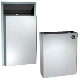 Wall Mount Steel Trash Cans
