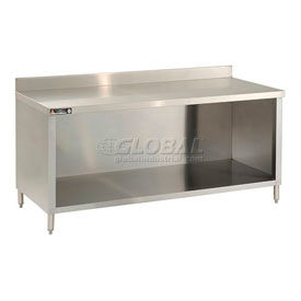 Stainless Steel Work Bench With Enclosure