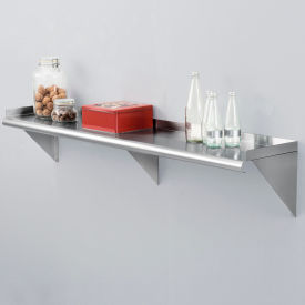 Stainless Steel Wall Mount Shelves