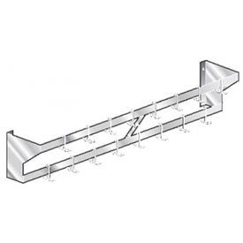 Wall Mount Double Bar Pot Racks