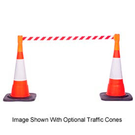 Traffic Cone Mount Retracting Belt Barriers