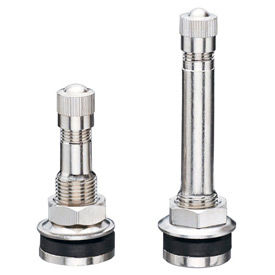 Clamp-In Tubeless Metal Valves