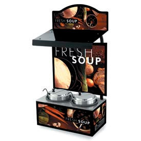 Vollrath® Cayenne® Twin Well Soup Merchandisers