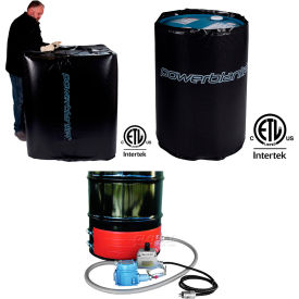 Hazardous Area Drum And IBC Heat Blankets