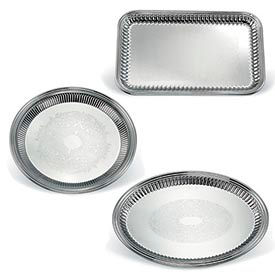 Vollrath® Esquire™ Tain en acier cannelé Trays