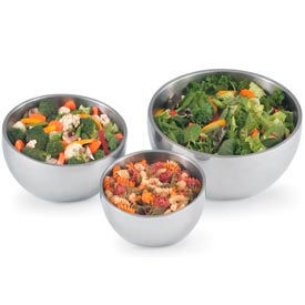 Stainless Steel Angled Bowls