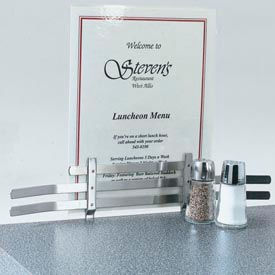 Vollrath® Counter Menu Holder