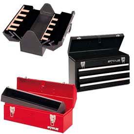 Boîtes à outils métalliques