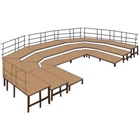 National Public Seating® - stade pré-paramétrés Configurations