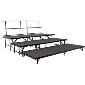 National Public Seating® - Full Stage Riser Sets