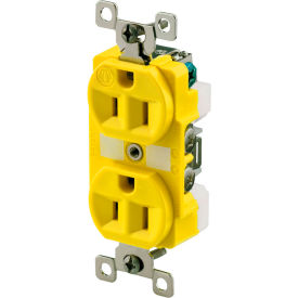 Industrial Grade Single and Duplex Receptacles