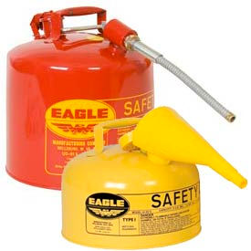 Eagle Type I & Type II Safety Cans