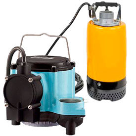 Submersible Sump Pumps, No Solids