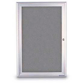 1 Door Enclosed Easy Tack Boards