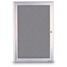 1 Door Enclosed Easy Tack Boards