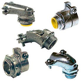 Flexible Metal Squeeze Connectors & Couplings