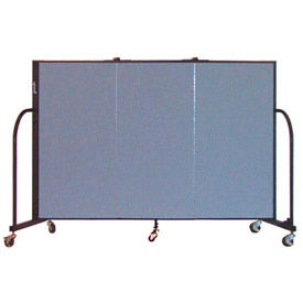 Screenflex® - 4' Fabric Upholstered Mobile Room Dividers
