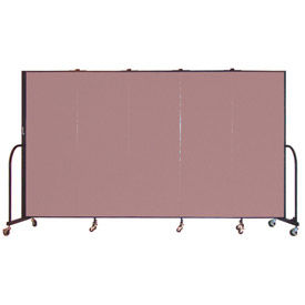 Screenflex® - 8' Fabric Upholstered Mobile Room Dividers