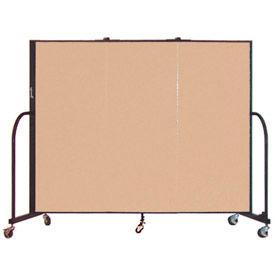 Screenflex® - 5'H Vinyl Upholstered Mobile Room Dividers