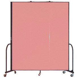 Screenflex® - Vinyl Upholstered Mobile Room Dividers - 6 Ft Height