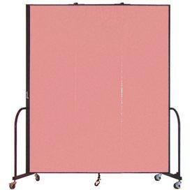 Screenflex® - 6'H Vinyl Upholstered Mobile Room Dividers