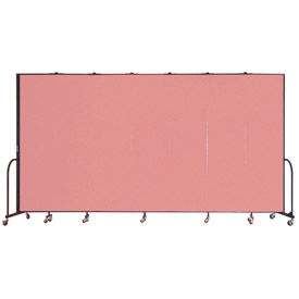 Screenflex® - 8'H Vinyl Upholstered Mobile Room Dividers
