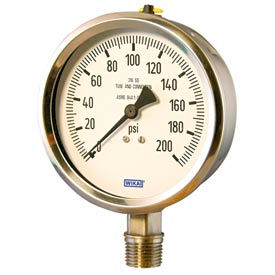 Wika® Stainless Steel Economy Industrial Gauges