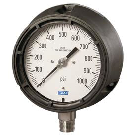 Wika® Liquid Filled Pocan® Safety Process Gauges