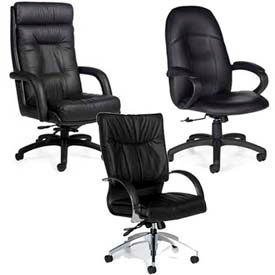 Global™ Leather Office Seating