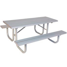 Heavy Duty Aluminum Picnic Tables