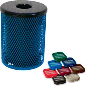 Thermoplastic Coated Trash Receptacles