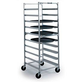 Lakeside® Aluminum Oval Tray Carts