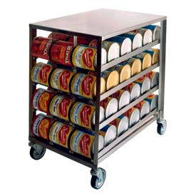 Mobile Can Storage And Dispensing Racks