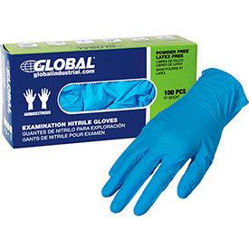 Global Industrial gants en Nitrile Non poudré jetable