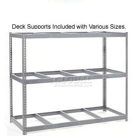 7'H Boltless Wide Span Metal Storage Rack Without Decking