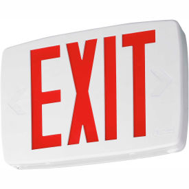 Thermoplastic LED Exit Signs